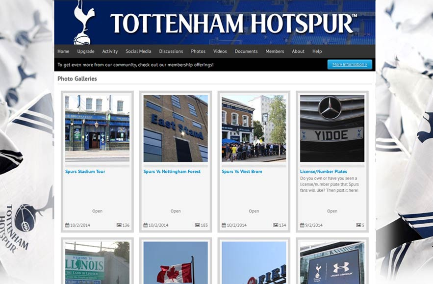 Tottenham Hotspur Football Club - Follr Fan Photo Galleries