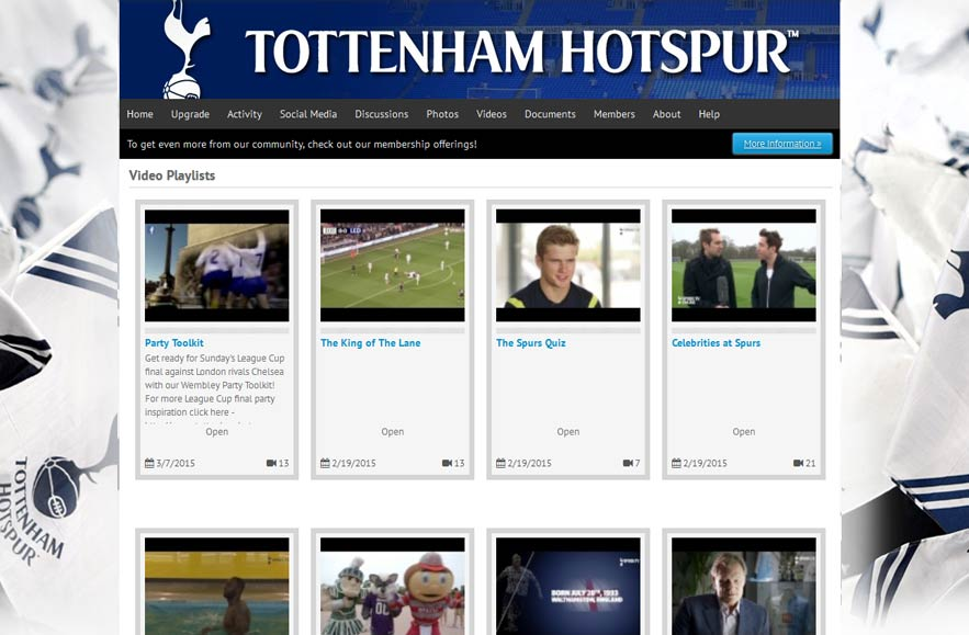 Tottenham Hotspur Football Club - Follr Fan Photo Videos